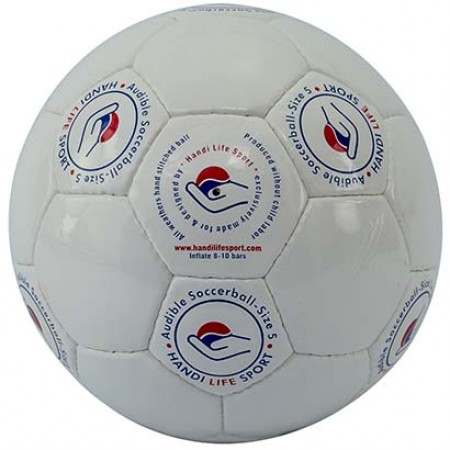 Bola Futebol de 7 com 2 Guizos - Oficial CP ISRA - Handi Life