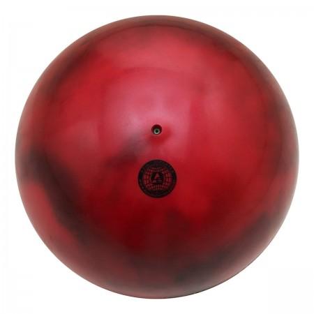 Bola Ginástica Rítmica 400g - Mescla Vermelha - Azul Esportes