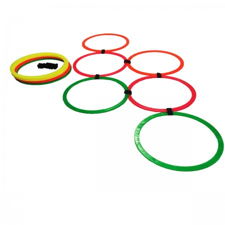 Kit Argolas de Agilidade 12 Unidades - Azul Esportes