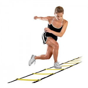 Escada Treinamento Agilidade - 4 metros - Azul Esportes