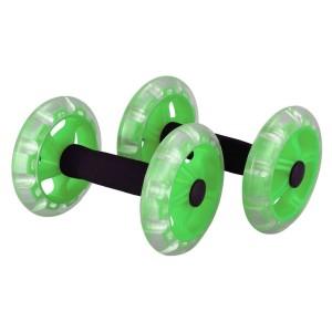 Roda Dupla de Exercícios Abdominal - Azul Esportes