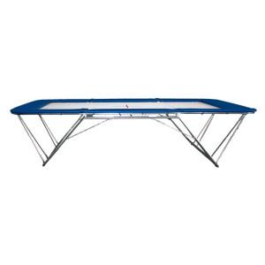 Trampolim Acrobático Ginástica Artística - Oficial - Azul Esportes