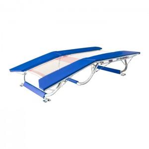 Trampolim Duplo Mini Ginástica Artística - Oficial - Azul Esportes
