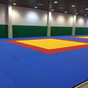 Tatame Judô Olímpico 50mm - Certificado IJF - Taishan Sports