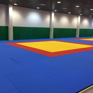 Tatame Judô Olímpico 40mm - Oficial IJF - Taishan Sports