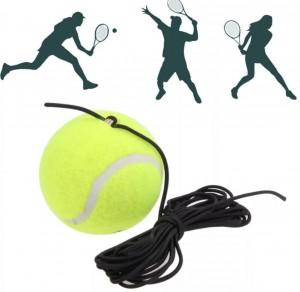 Bola Com Elástico de Treinamento para Tênis Campo – Azul Esportes