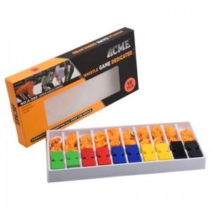 Apito Profissional Tipo Fox Com Cordão Kit C/10 Unidades - Acme