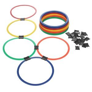 Kit Argolas de Agilidade - 20 Unidades - Azul Esportes