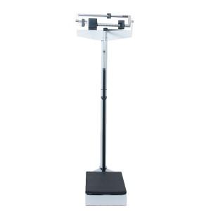 Balança Médica Antropométrica Mecânica 140kg - Azul Esportes