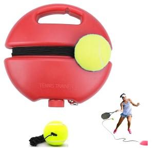 Bola de Tênis c/ Elástico e Base para Treinamento Power Smash Teloon - Azul Esportes