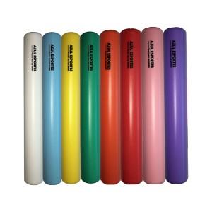 Bastão de Revezamento Plástico Atletismo - Azul Esportes