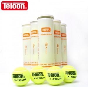 Bola de Tênis Campo - Tubo com 3 unidades ITF - Teloon