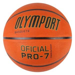 Bola Basquete Borracha - Oficial Pro 7 - Olymport