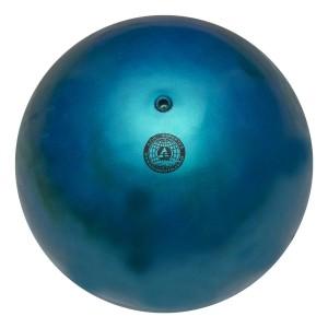 Bola Ginástica Rítmica 400g - Mescla Azul - Azul Esportes