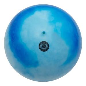 Bola Ginástica Rítmica 400g - Mescla Azul Claro - Azul Esportes
