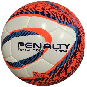 Bola Futsal Digital 500 Híbrida Duo Tec - Penalty