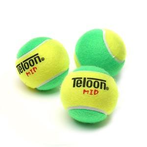 Bola Tenis Infantil 25% Estagio 1 - 3 unidades - Teloon - Azul Esportes