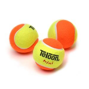 Bola Tenis Infantil 50% Estagio 2 - 3 unidades - Teloon - Azul Esportes