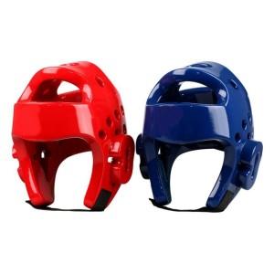 Capacete Protetor de Cabeça Taekwondo - Azul Esportes