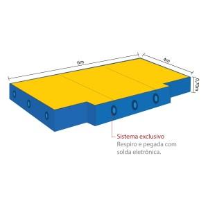 Colchão Salto Altura - Azul Esportes