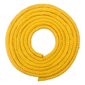 Corda Ginástica Rítmica 2,20m - Amarela - Azul Esportes