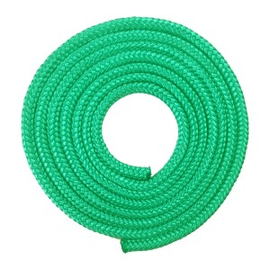 Corda Ginástica Rítmica 2,20m - Verde Esmeralda - Azul Esportes