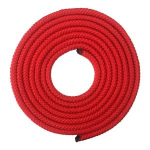 Corda Ginástica Rítmica 2,20m - Vermelha - Azul Esportes