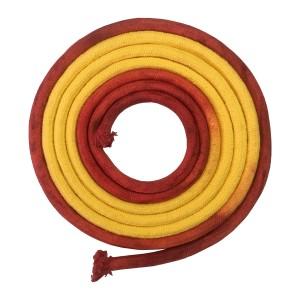 Corda Ginástica Rítmica 3m - Vermelha e Amarela - Azul Esportes