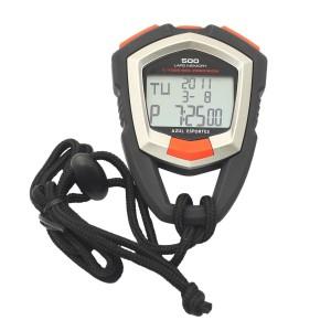 Cronômetro Digital Profissional 500 Voltas/Memórias - Azul Esportes