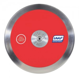 Disco Atletismo Aço/ABS 1kg - High Spin DSR-P10 IAAF - Vinex