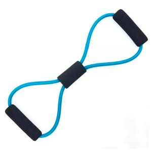 Elástico Tensão Exercícios Ombro Biceps Triceps Peito Costas Glúteos - Médio - Azul Esportes