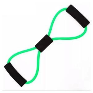 Elástico Tensão Exercícios Ombro Biceps Triceps Peito Costas Glúteos - Forte - Azul Esportes