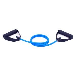 Extensor Elástico Exercícios Ginástica Musculação Multifuncional - Médio - Azul Esportes
