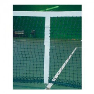 Faixa Central Tênis de Campo - Couro - Azul Esporte