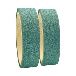 Fita Adesiva Glitter Azul - Kit c/ 2 unidades - Azul Esportes