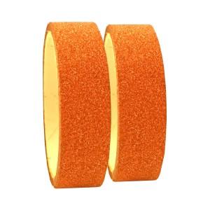 Fita Adesiva Glitter Bronze - Kit c/ 2 unidades - Azul Esportes