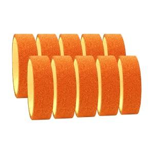 Fita Adesiva Glitter Bronze - Kit c/ 10 unidades - Azul Esportes