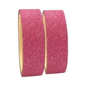 Fita Adesiva Glitter Pink - Kit c/ 2 unidades - Azul Esportes