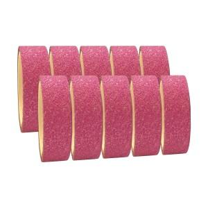 Fita Adesiva Glitter Pink - Kit c/ 10 unidades - Azul Esportes