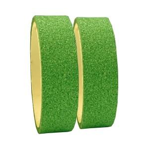 Fita Adesiva Glitter Verde - Kit c/ 2 unidades - Azul Esportes