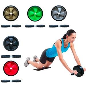 Roda Abdominal Rolo De Exercícios Lombar – Azul Esportes