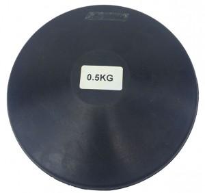 Disco borracha 0,5kg Treino Atletismo - Feilu Taishan