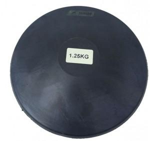 Disco borracha 1,25kg Treino Atletismo - Feilu Taishan