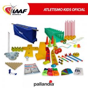 Kit Infantil Iniciação Atletismo - Oficial IAAF - Pallandia