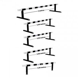Kit Completo Obstáculos Steeplechase Atletismo 5 Unidades - IAAF - Vinex