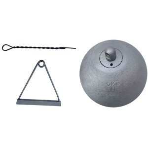Martelo Atletismo Ferro 5kg - Feilu Taishan
