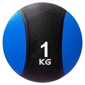 Medicine Ball 1kg - Kick - Azul Esportes