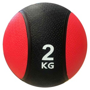 Medicine Ball 2kg - Kick - Azul Esportes