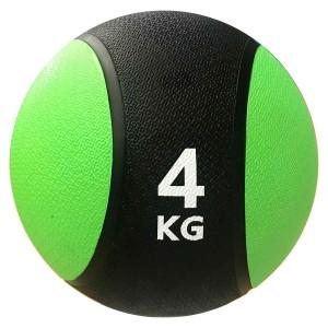 Medicine Ball 4kg - Kick - Azul Esportes