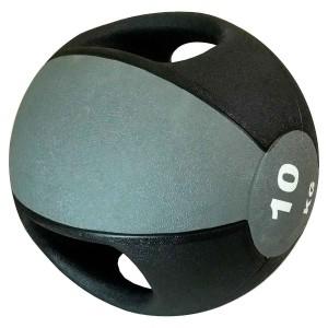 Medicine Ball Com Pegada 10kg - Azul Esportes